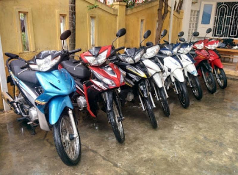 Dịch vụ cho thuê xe máy Thanh Hà