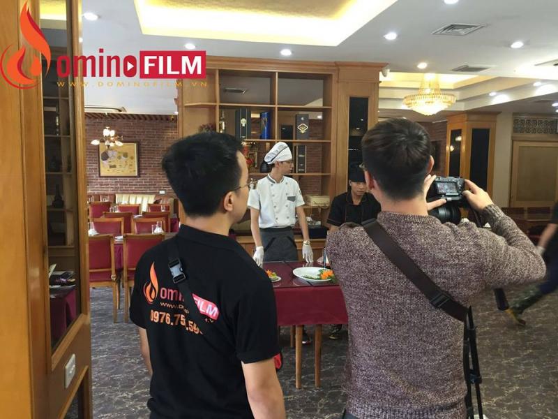 Dịch vụ chụp ảnh và quay phim quảng cáo sản phẩm của Domino Film