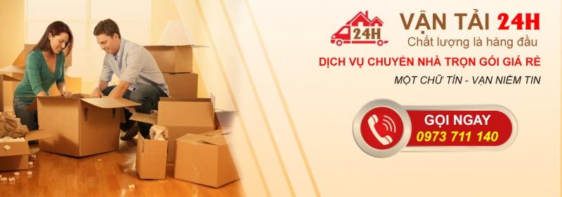 Vận Tải 24h là dịch vụ chuyển nhà trọn gói giá rẻ