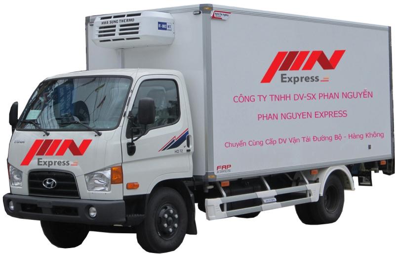 PhanNguyenExpress có hệ thống xe vận chuyển chuyên nghiệp