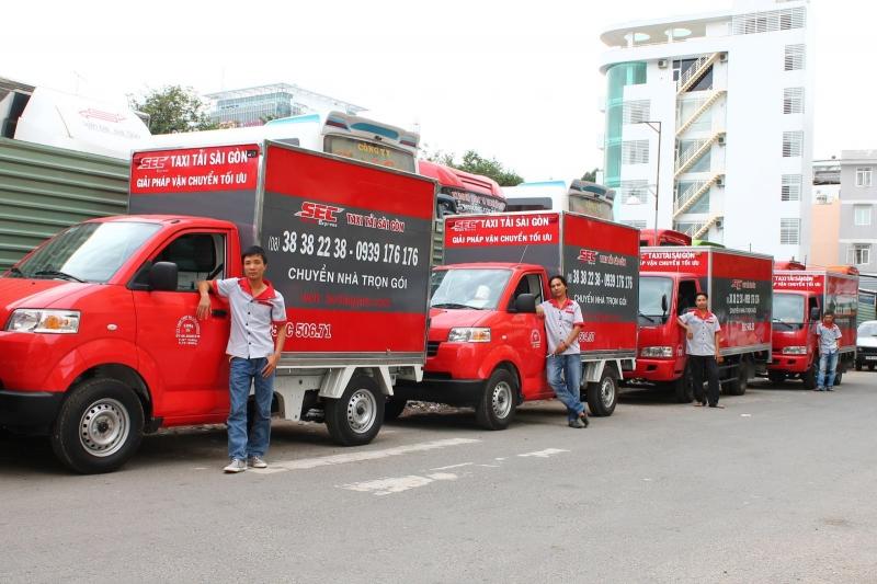 Taxi tải Sài Gòn - dịch vụ chuyển nhà trọn gói uy tín và chất lượng nhất tại Cần Thơ