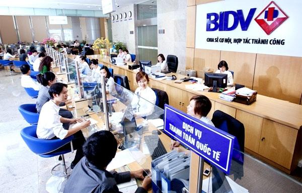 Dịch vụ chuyển tiền quốc tế BIDV Internet