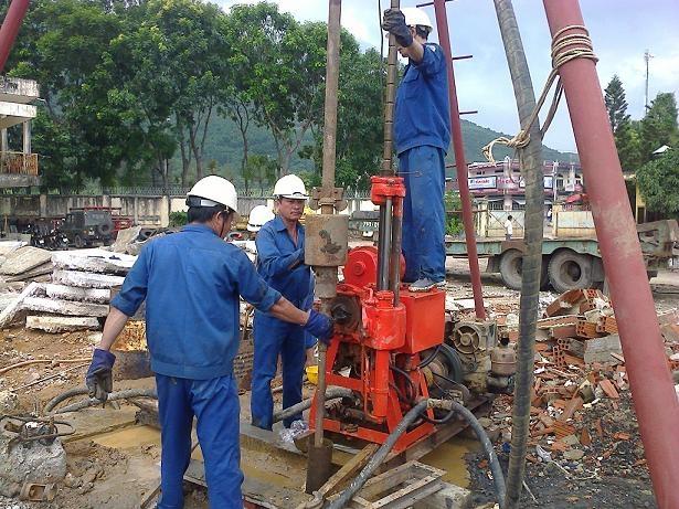 Dịch vụ khoan giếng của công ty TNHH Tư vấn và Dịch vụ Địa chất Việt Nam