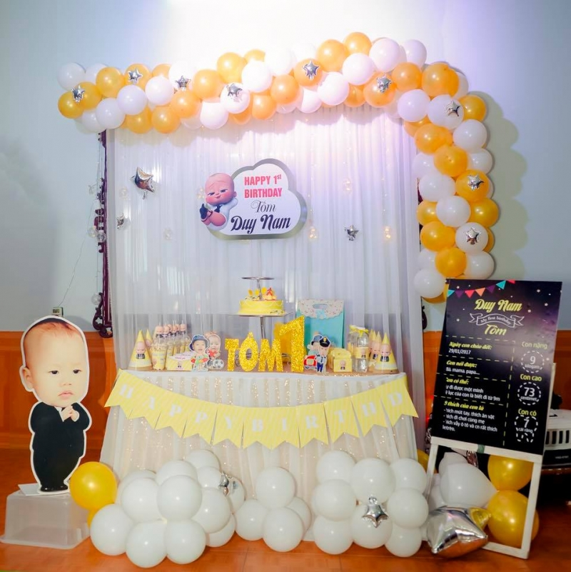 Dịch vụ cung cấp bóng bay trang trí sự kiện cưới hỏi sinh nhật của Minh Ánh