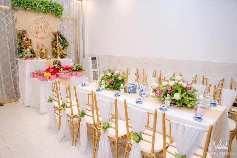 Dịch vụ cưới hỏi White Wedding