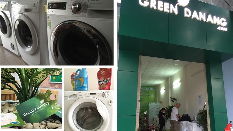 Dịch vụ giặt ủi Green Laundry