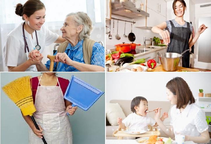 Dịch vụ giúp việc tại nhà theo giờ