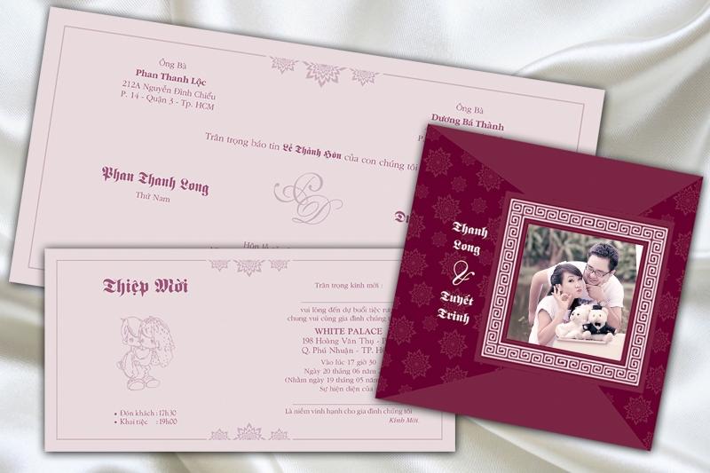 Lê Vĩnh Hòa - dịch vụ in thiệp cưới đẹp giá rẻ nhất tại Đà Nẵng (hình ảnh lấy từ website của Lê Vĩnh Hòa)