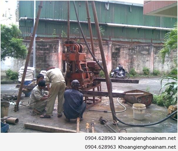 Dịch vụ khoan giếng Hoài Nam