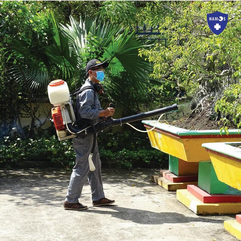 Dịch vụ kiểm soát côn trùng HAMOS