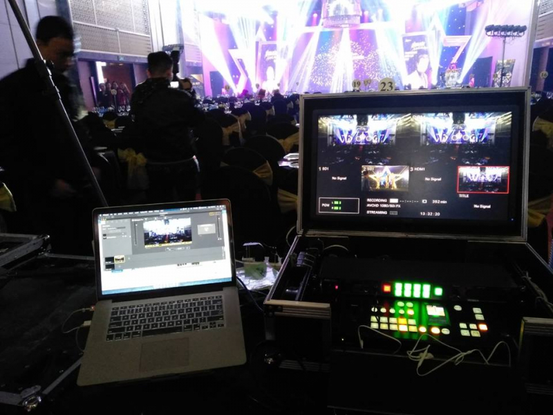 Dịch vụ livestream và quay phim sự kiện, hội nghị, event, bán hàng của Sen Media