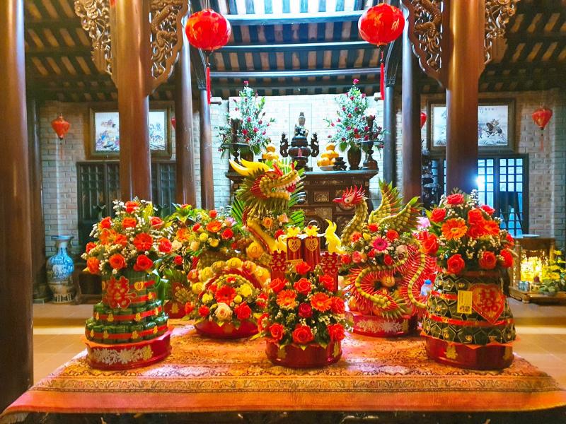 Dịch vụ mâm quả cưới hỏi Hoàng Nam - Huế