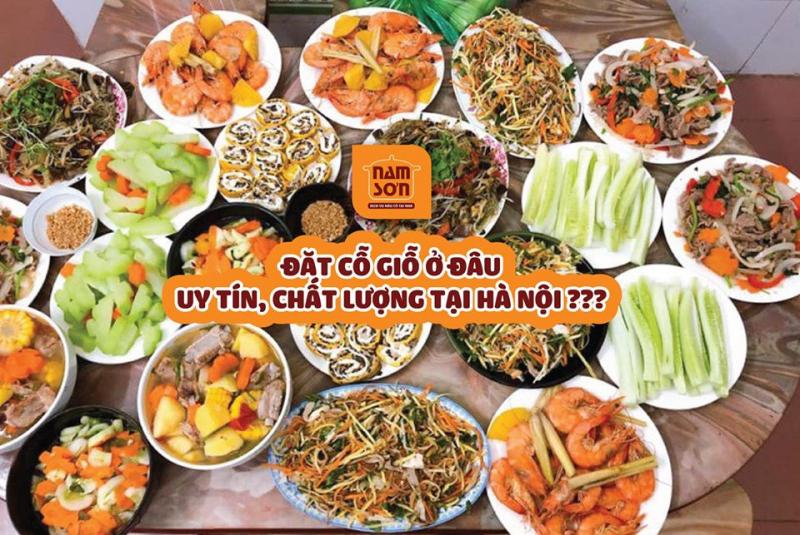 Dịch vụ nấu cỗ Nam Sơn