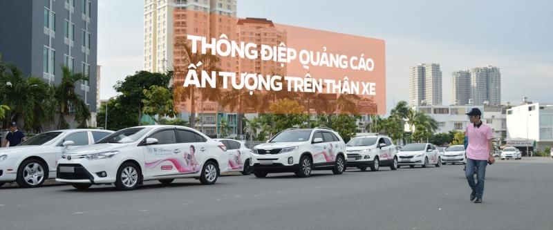 Drivadz - dịch vụ quảng cáo trên xe ô tô uy tín nhất hiện nay
