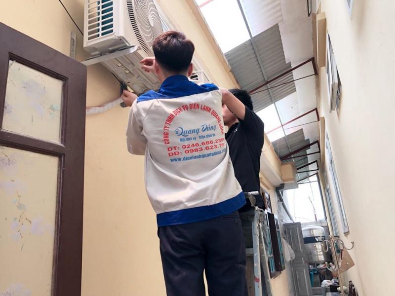 Dịch vụ sửa điều hòa Quang Dũng