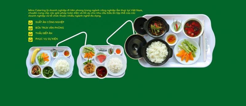 Dịch vụ suất ăn công nghiệp Mina Catering