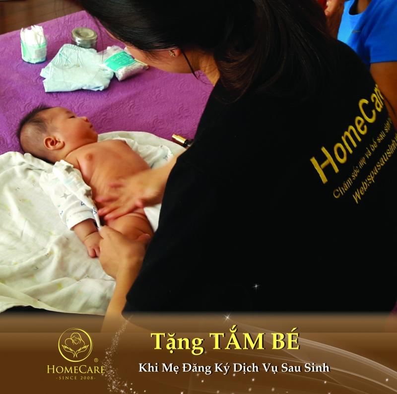Dịch vụ tắm bé sơ sinh và chăm sóc sau sinh Home Care