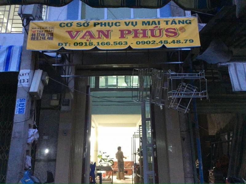 Cơ sở phục vụ mai táng Vạn Phú S