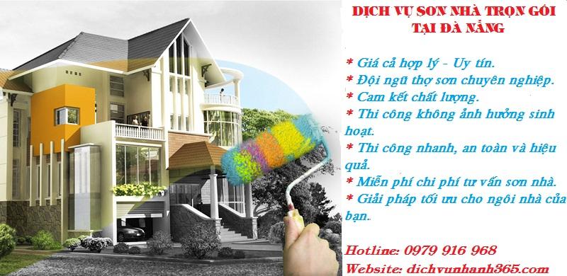 Dịch vụ thợ sơn nhà tại Đà Nẵng