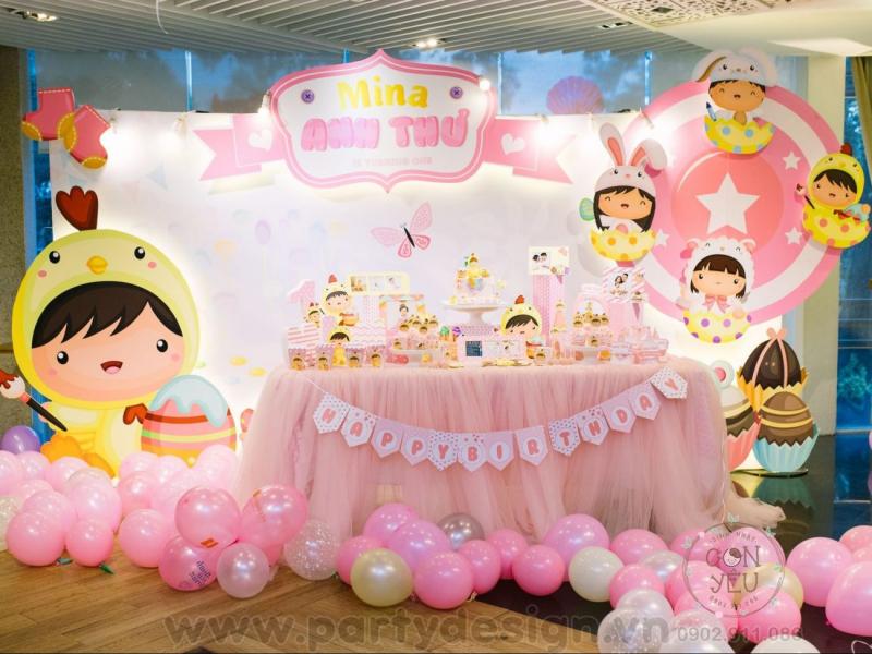 Dịch vụ tổ chức sinh nhật Party Design