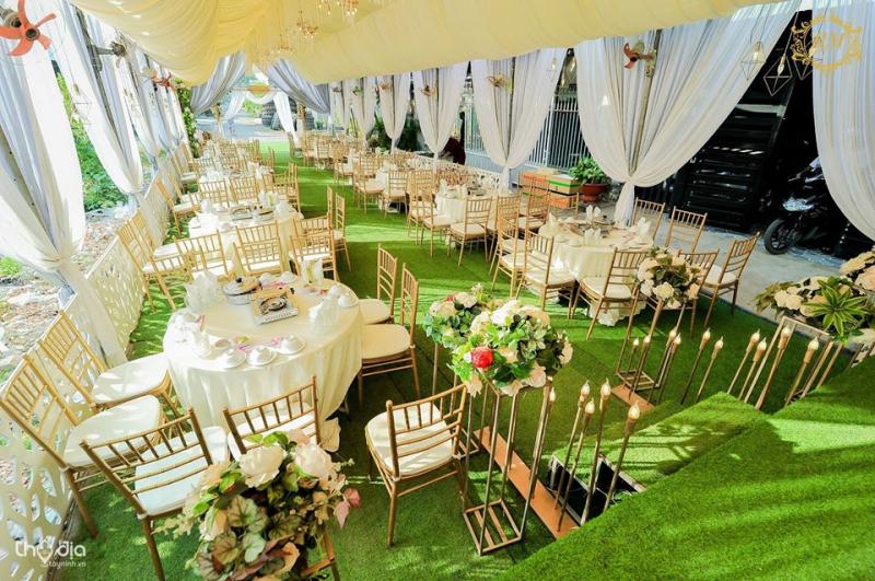 Dịch vụ - Tổ chức tiệc cưới Bảy Mẫn