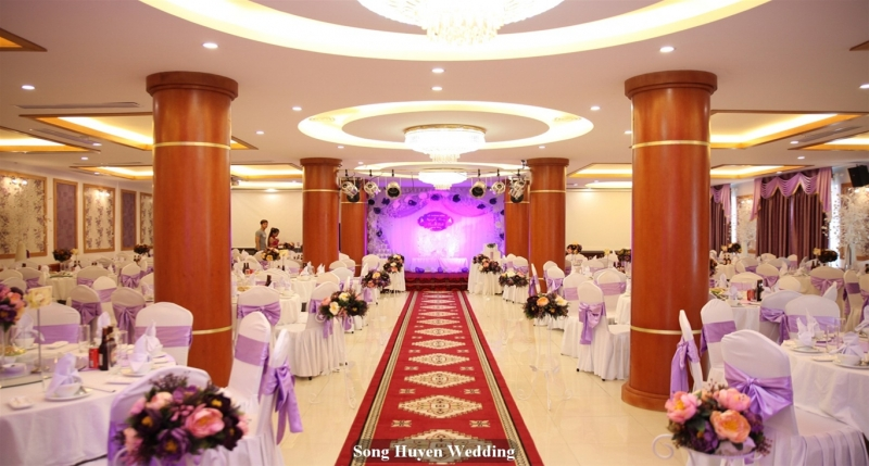Dịch vụ trang trí đám cưới Song Huyền