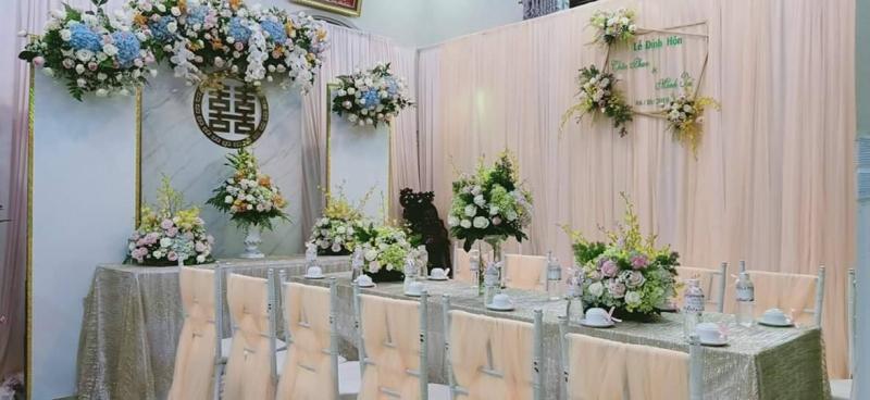 Trang trí tiệc cưới Duy Thiện