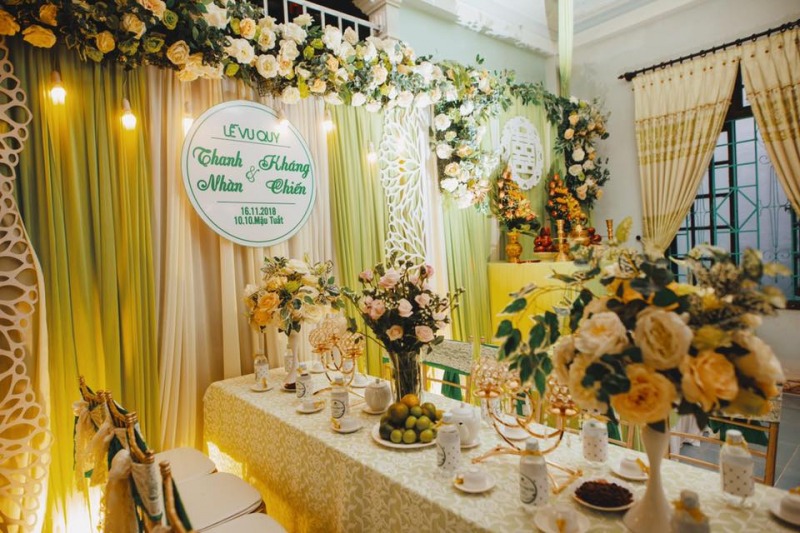 Top 11 Dịch vụ trang trí tiệc cưới đẹp và uy tín nhất Huế