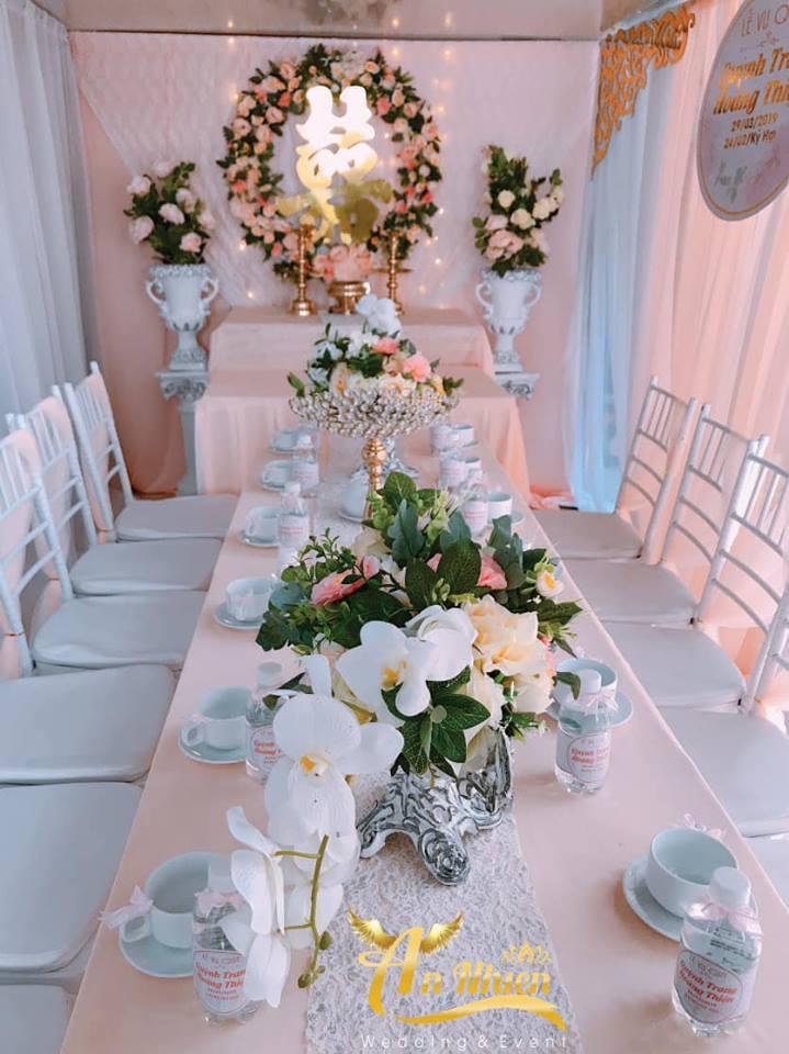 Dịch vụ trang trí tiệc cưới An Nhiên Wedding