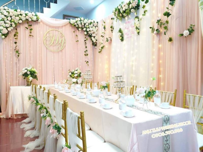 Dịch vụ trang trí tiệc cưới Anh Thư