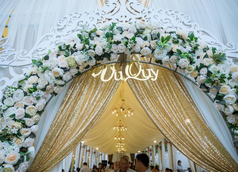 Dịch vụ trang trí tiệc cưới Bảy Mẫn
