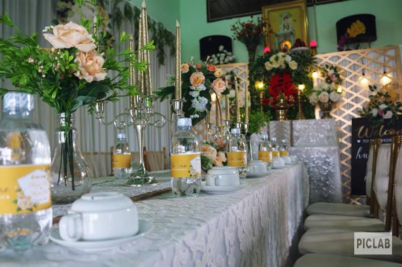 Dịch vụ trang trí tiệc cưới Bích Nguyễn