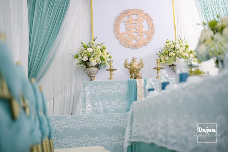 Dịch vụ trang trí tiệc cưới của Dajun Decor