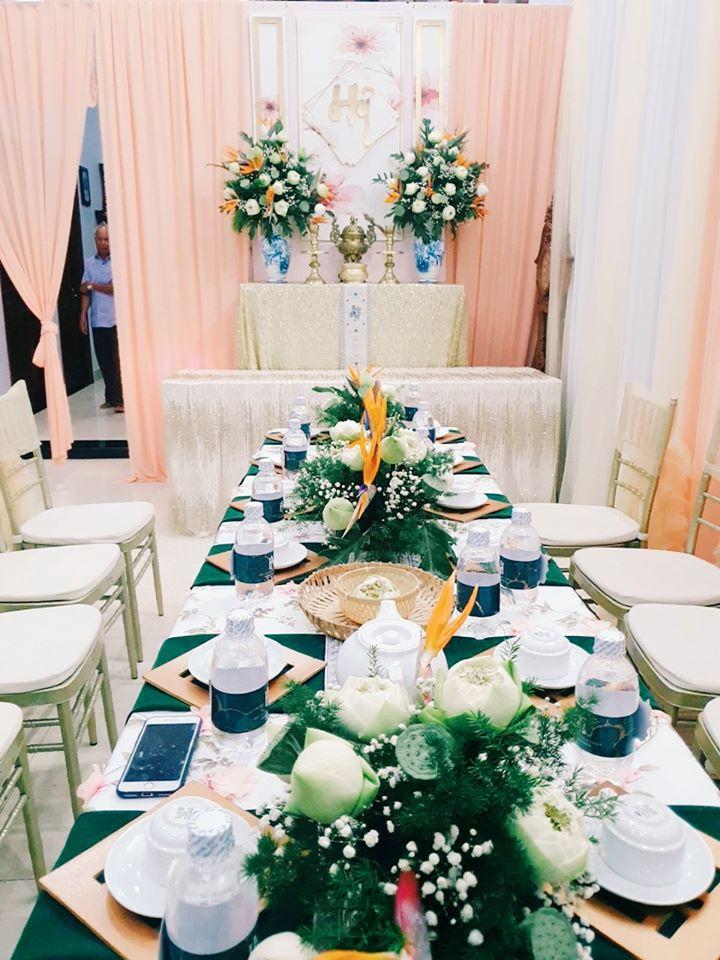 Dịch vụ trang trí tiệc cưới của Hiếu Nguyễn Wedding & Event