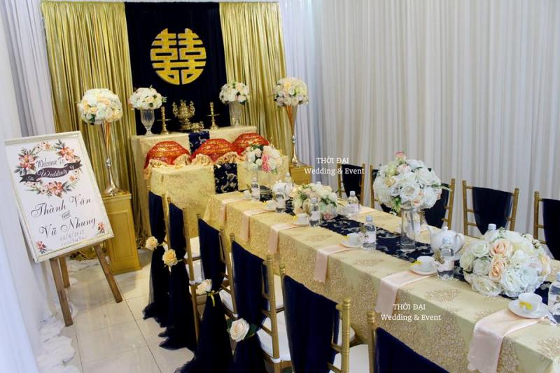 Dịch vụ trang trí tiệc cưới của Thời Đại Wedding & Event