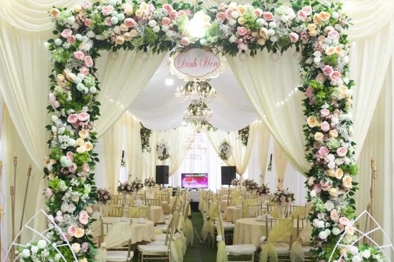 Dịch vụ trang trí tiệc cưới Cúc Sài Gòn