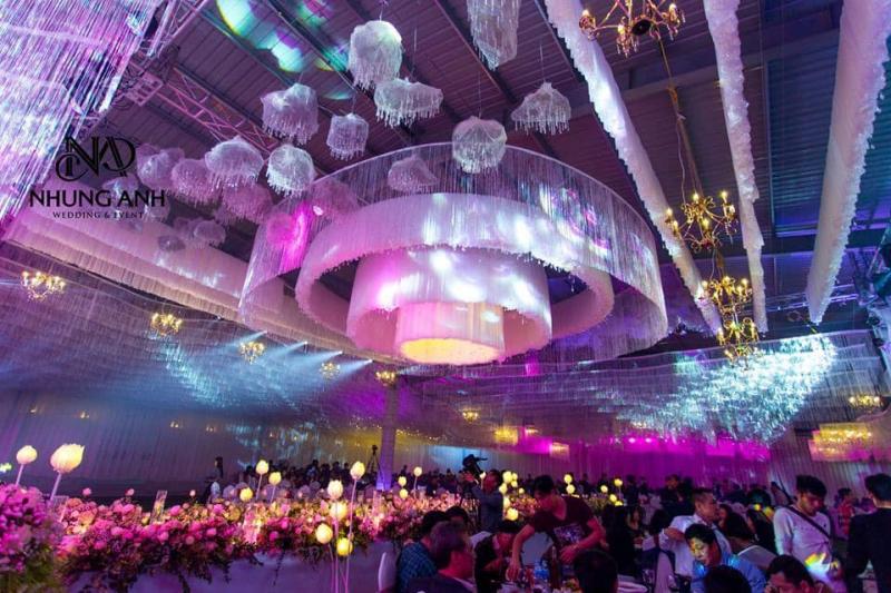 Dịch vụ trang trí tiệc cưới - Cưới hỏi cao cấp Nhung Anh