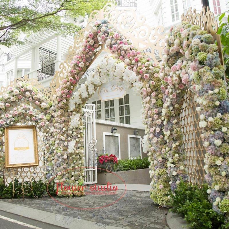 Dịch vụ trang trí tiệc cưới Flower Studio Saigon