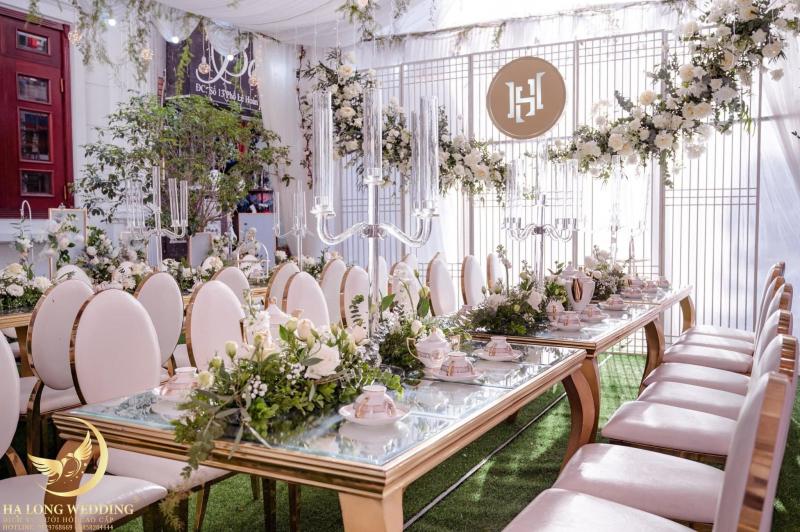 Dịch vụ trang trí tiệc cưới HALONG WEDDING (Nga Flowers)