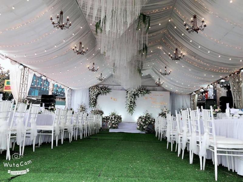 Dịch vụ trang trí tiệc cưới Hiếu Sự Kiện
