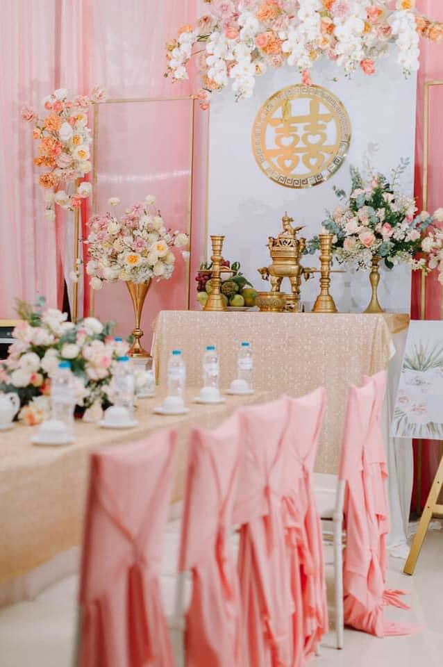 Dịch vụ trang trí tiệc cưới Hoàng Kim Wedding