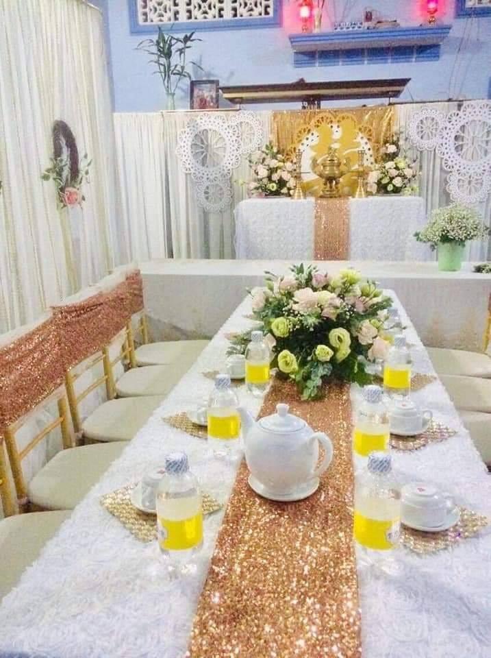 Dịch vụ trang trí tiệc cưới Hồng Phúc