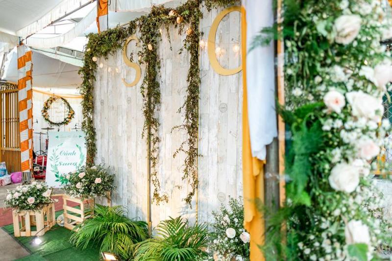 Dịch vụ trang trí tiệc cưới Huỳnh Nhi