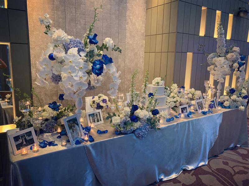 Dịch vụ trang trí tiệc cưới Jam Jar Flowers