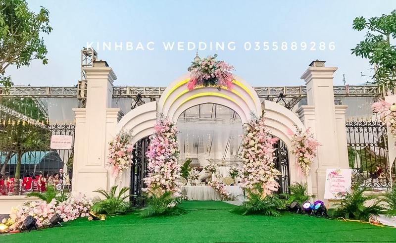 Dịch vụ trang trí tiệc cưới Bắc Giang Wedding Planner