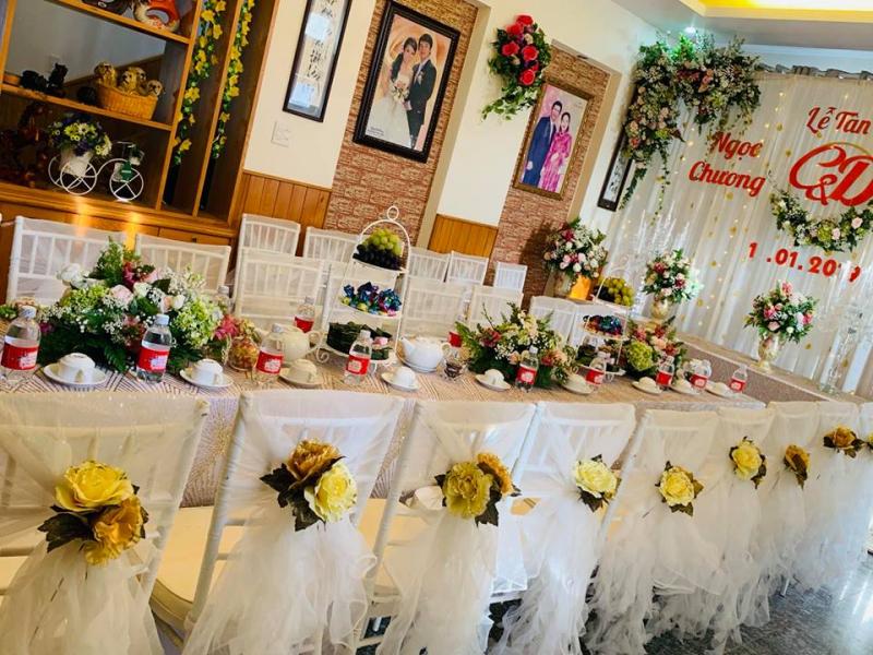 Dịch vụ trang trí tiệc cưới Lee Event