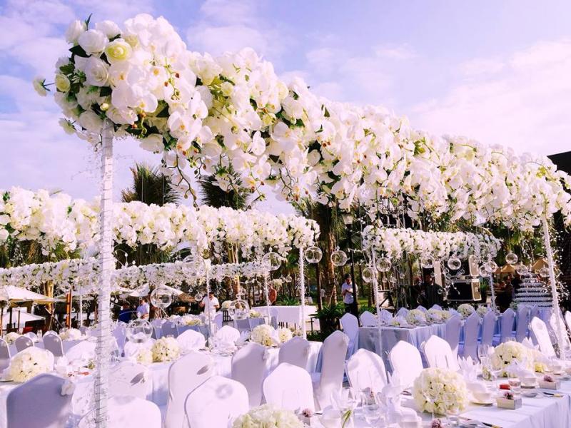 Dịch vụ trang trí tiệc cưới Mai Wedding