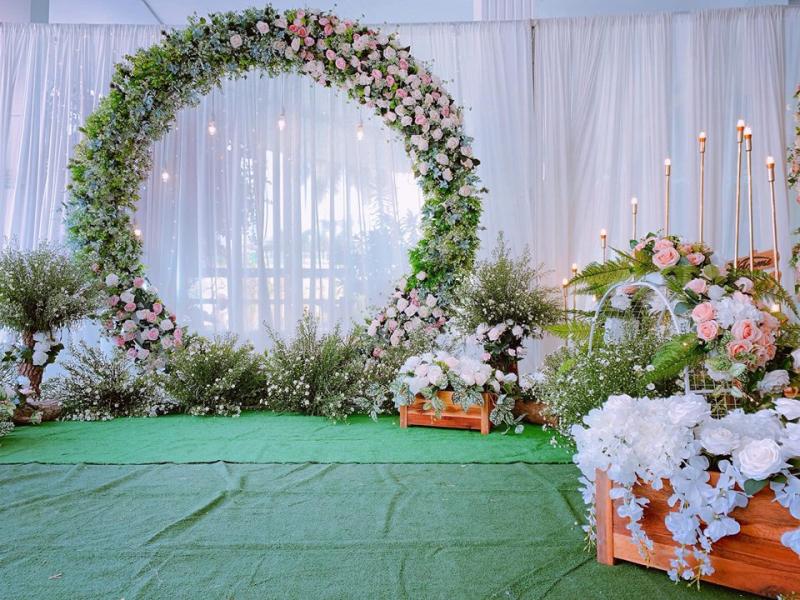 Dịch vụ trang trí tiệc cưới Maison wedding