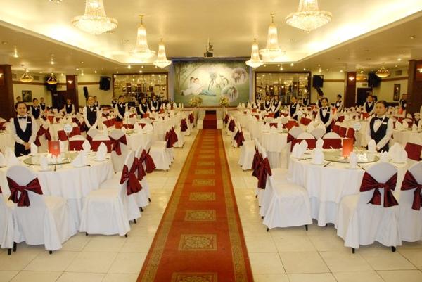Dịch vụ trang trí tiệc cưới Mạnh Công