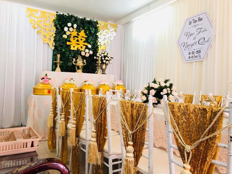 Dịch vụ trang trí tiệc cưới MOON decor